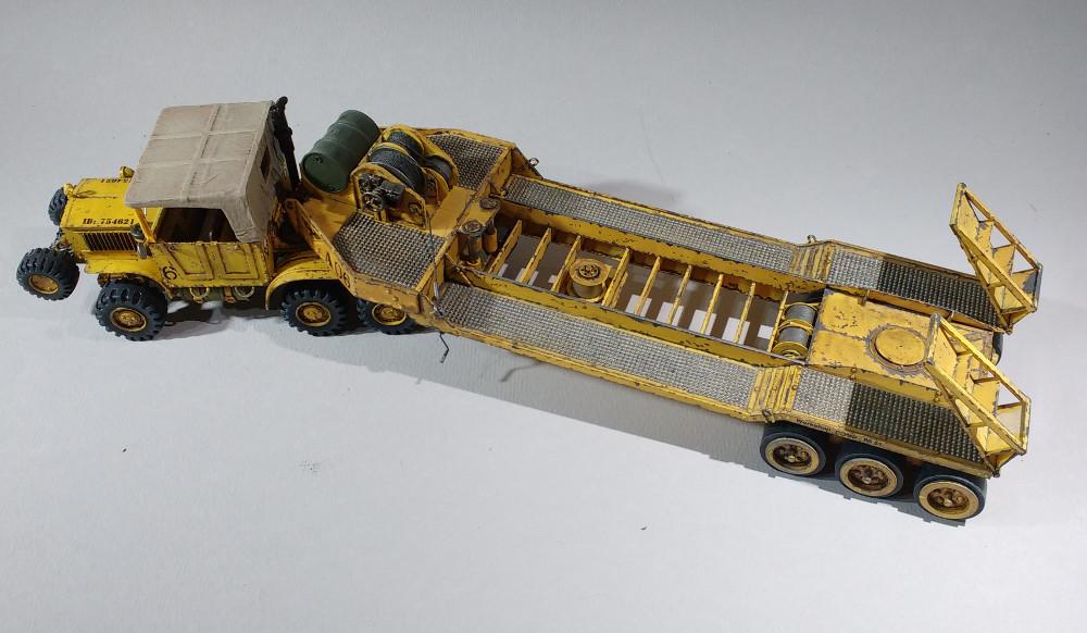 Un porte char en scratch pour W40K 18011012041823099315443151