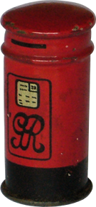 Royal mail letter box Hornby