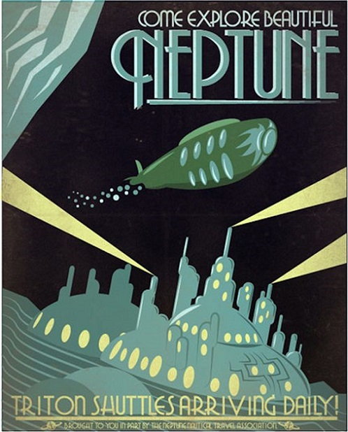 RETROFAKE - Come explore beautiful Neptune dans Retrofake 18011909523415263615477712
