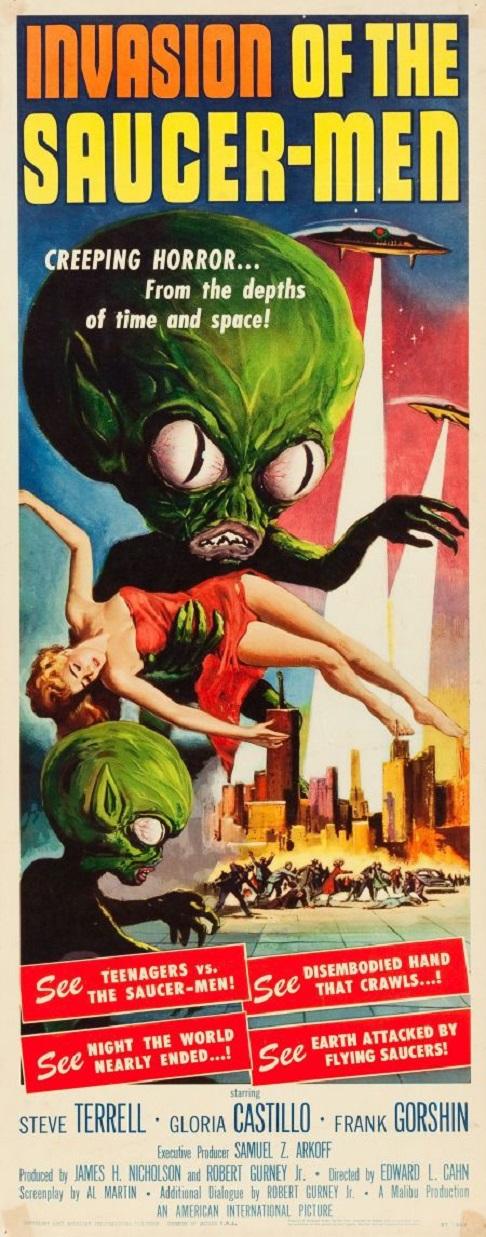 POSTEROÏDE - Invasion of the Saucer-Men dans Cineteek 18012009472415263615479213