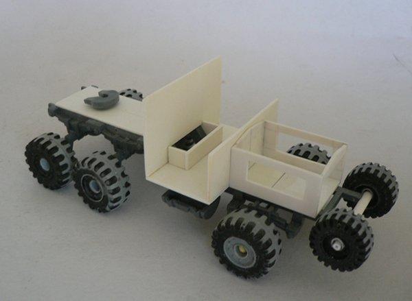 Un porte char en scratch pour W40K 18012310453323099315494520