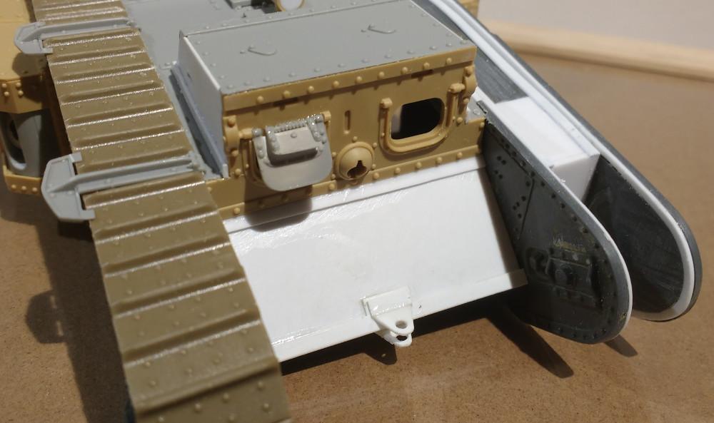 Tank MarkIV un mix Ehmar/Takom au 1/35 18012312181923099315492377