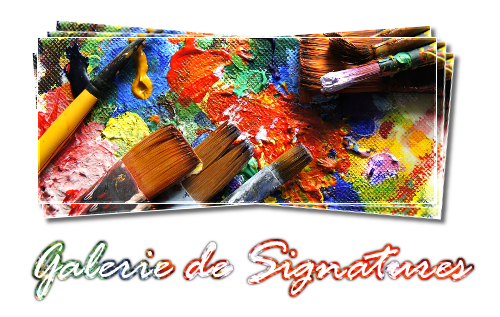 {Galerie} Signatures 18012501310922555415500028