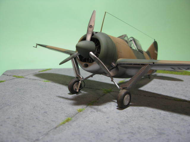 Montage terminé: Brewster Buffalo Aéronautique Militaire Belge Tamiya 1/48 18012509551223669015499626