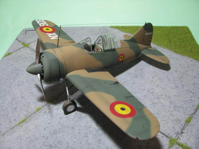 Montage terminé: Brewster Buffalo Aéronautique Militaire Belge Tamiya 1/48 18012509551323669015499627