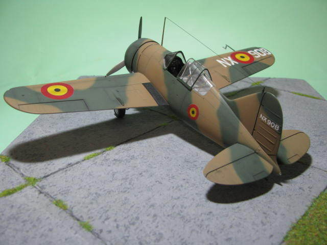 Montage terminé: Brewster Buffalo Aéronautique Militaire Belge Tamiya 1/48 18012509551323669015499628