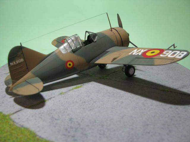Montage terminé: Brewster Buffalo Aéronautique Militaire Belge Tamiya 1/48 18012509551523669015499629
