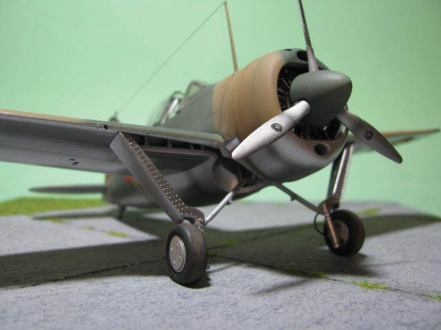 Montage terminé: Brewster Buffalo Aéronautique Militaire Belge Tamiya 1/48 18012510110423669015499673