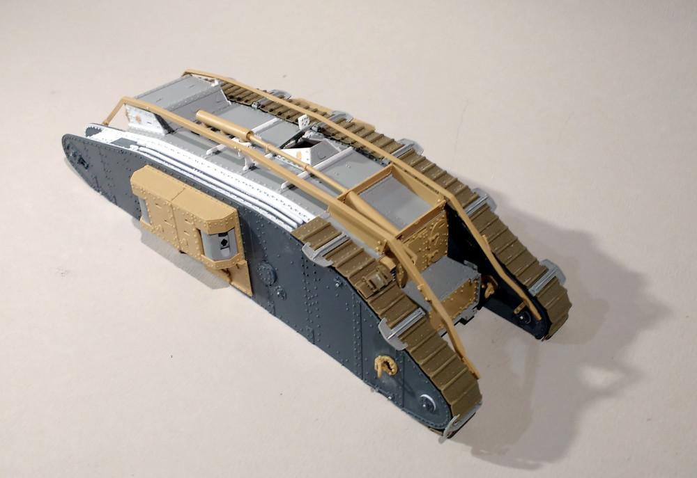Tank MarkIV un mix Ehmar/Takom au 1/35 18012810535723099315513457