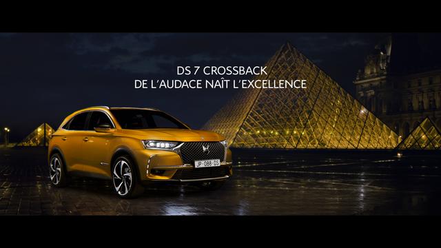 « De L'audace Naît L'excellence » La Campagne De Lancement De DS 7 CROSSBACK 180202112841788615529069