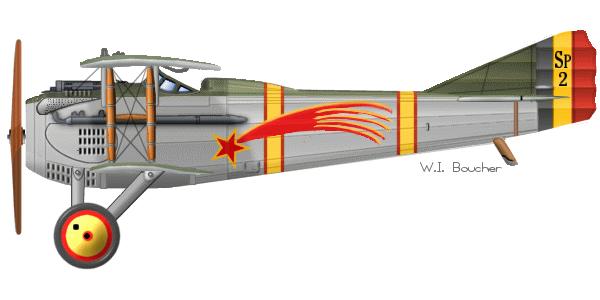 Spad VIIc Aéronautique militaire belge Roden 1/32 18020504165723669015537110