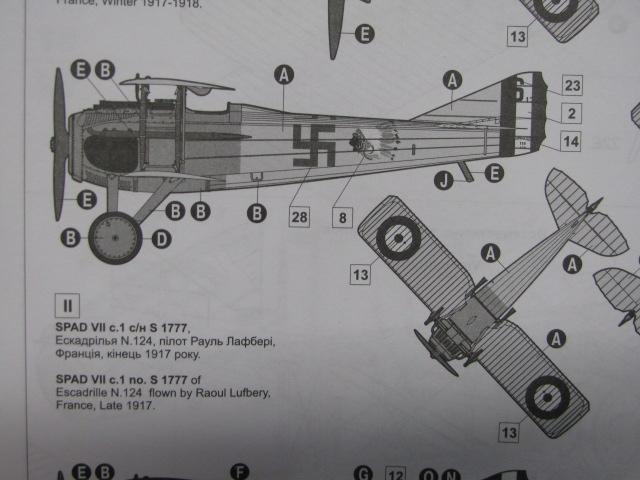 Spad VIIc Aéronautique militaire belge Roden 1/32 18020504502423669015537207