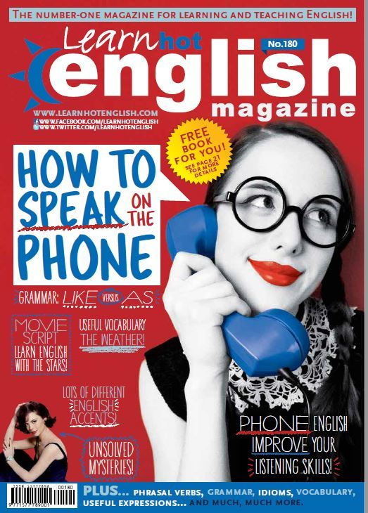 Learn Hot English No 180 Audio - Mai 2017 - MP3