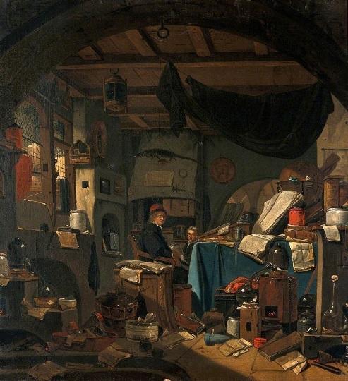 L'Alchimiste sous le regard des peintres 18020603424219075515539210