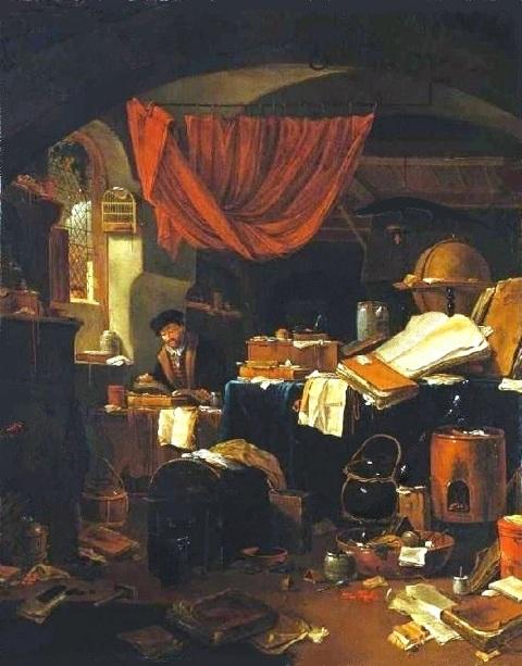 L'Alchimiste sous le regard des peintres 18020604435919075515539363