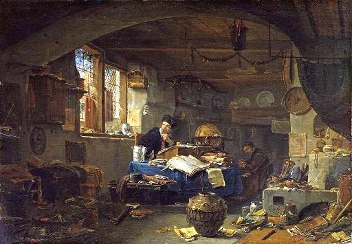 L'Alchimiste sous le regard des peintres 18020604451019075515539364