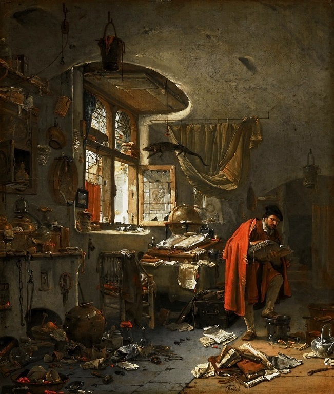L'Alchimiste sous le regard des peintres 18020604460819075515539370