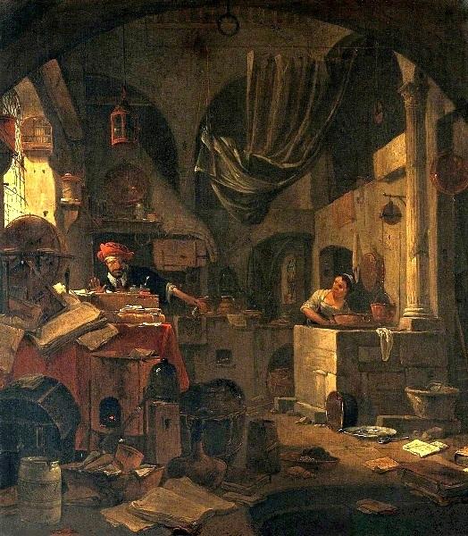L'Alchimiste sous le regard des peintres 18020604460819075515539372