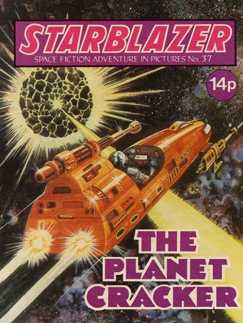 COUV - Starblazer, Space Fiction Adventure in Pictures dans Couv 18020707371415263615541341