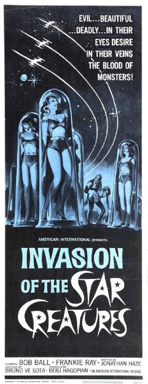 POSTEROÏDE - Invasion of the Star Creatures dans Cineteek 18020805552515263615542993
