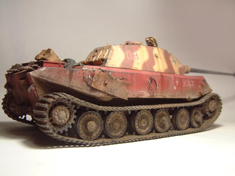 Vk4502 Vorne (prototype) Tourelle Porsche - 1/35e [HobbyBoss] 1802080835184769015544709