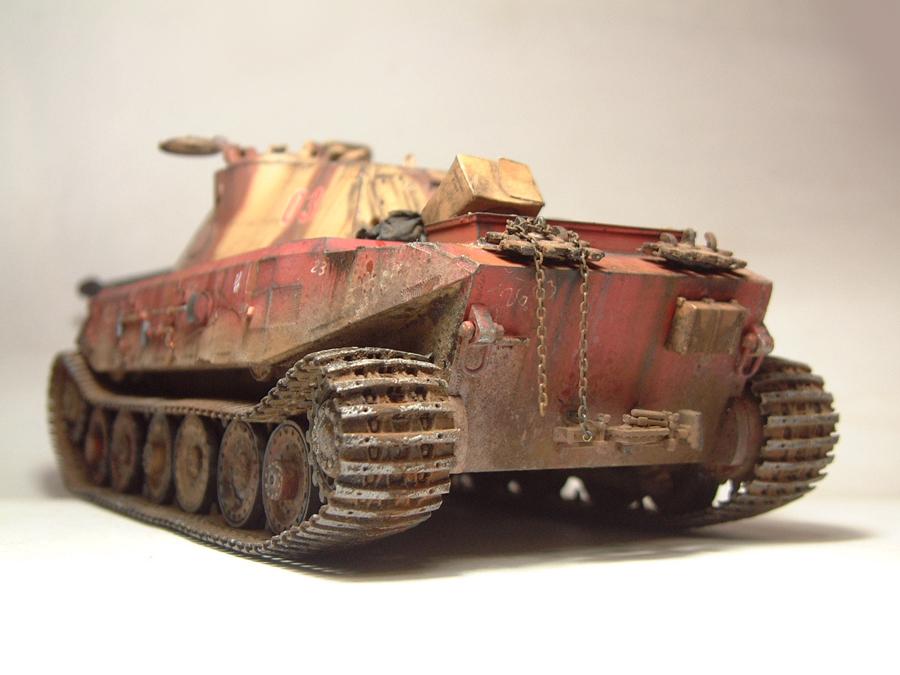 Vk4502 Vorne (prototype) Tourelle Porsche - 1/35e [HobbyBoss] 1802080837514769015544723
