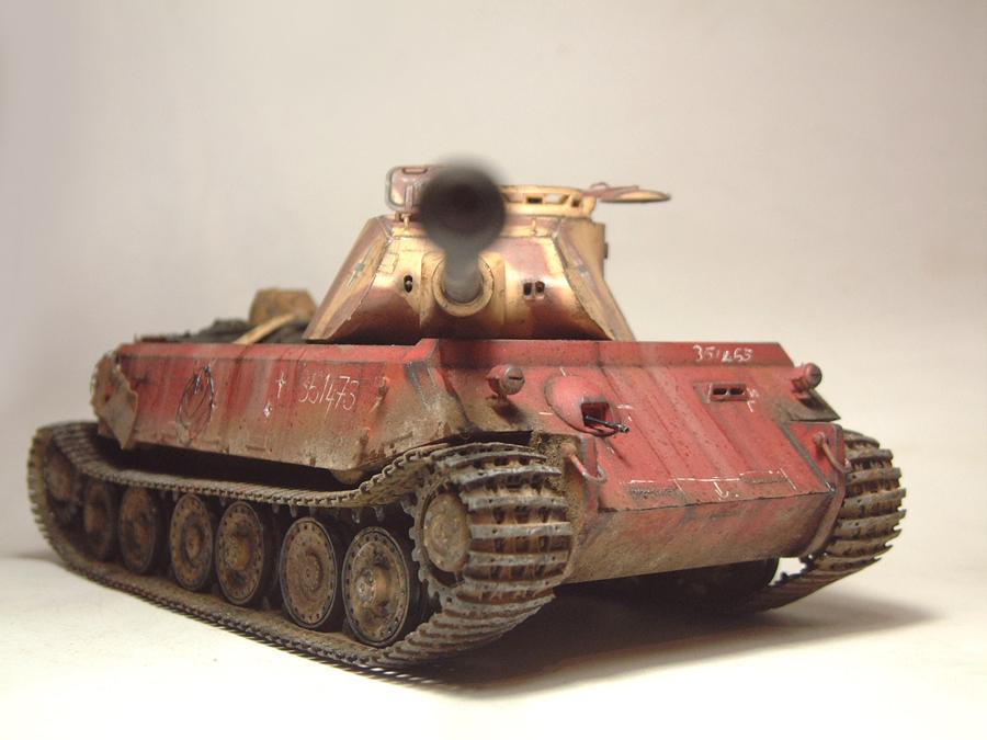 Vk4502 Vorne (prototype) Tourelle Porsche - 1/35e [HobbyBoss] 1802080839504769015544731
