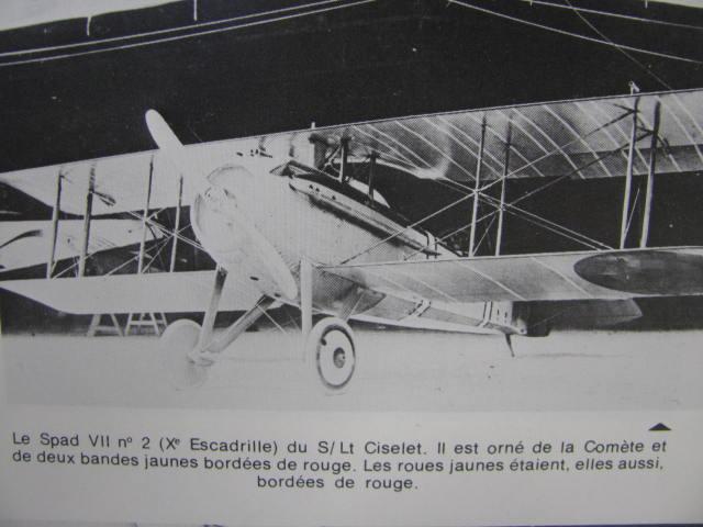 Spad VIIc Aéronautique militaire belge Roden 1/32 18020903245223669015546112