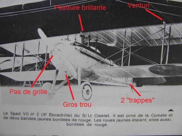 Spad VIIc Aéronautique militaire belge Roden 1/32 18020909412723669015545666