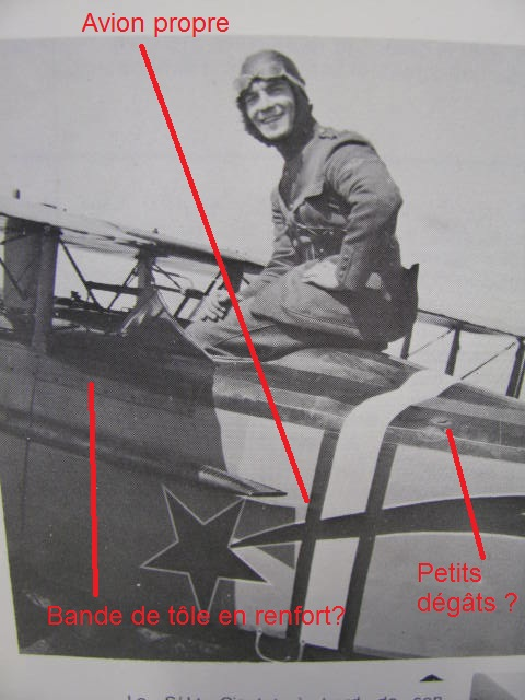 Spad VIIc Aéronautique militaire belge Roden 1/32 18020909413323669015545667
