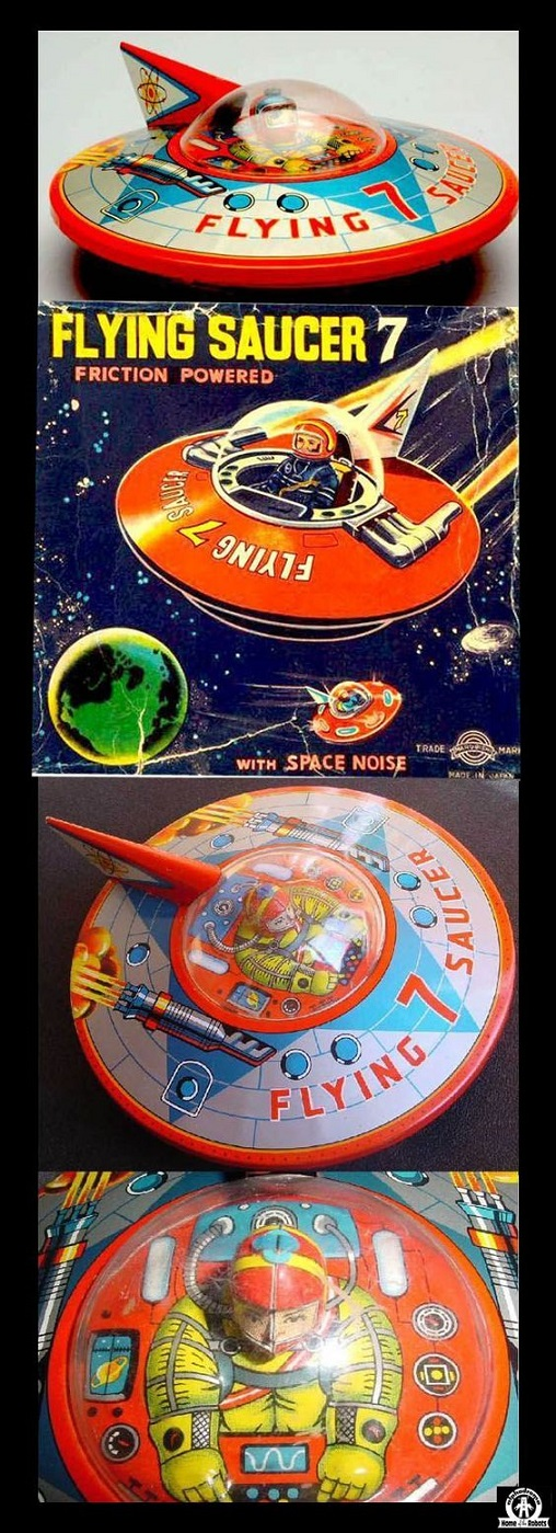 SPACETOYS - Flying Saucer 7 dans Spacetoys 18021008400415263615547847