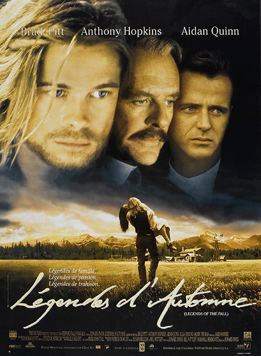 Légendes d'automne  1995  MULTi  VFF   VO + STFR  DVDrip XviD h263