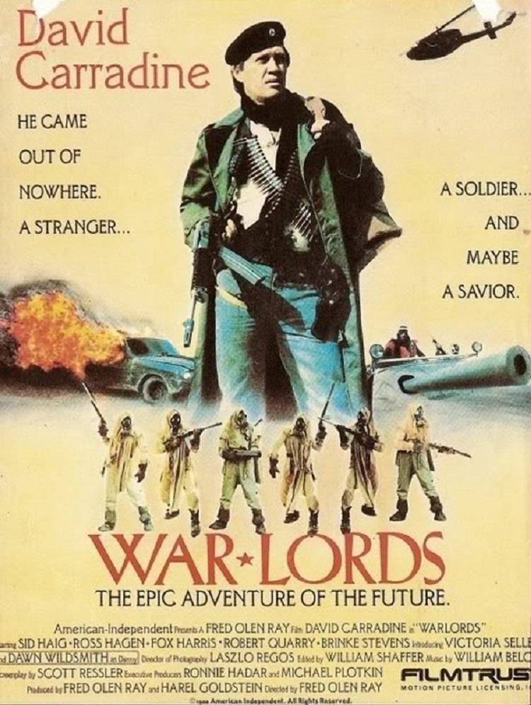 L'AFFICHE : WARLORDS (1988) dans CINÉMA 18021308011215263615555016