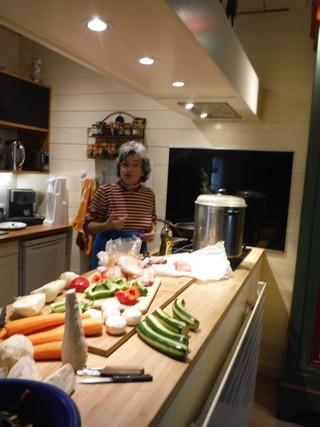 Prépration du couscous par Maylen